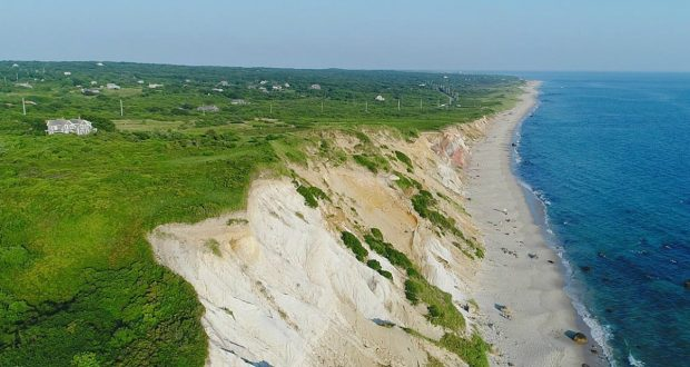 The western edge of Martha's Vineyard is known as the lonely part of the island. It will have a casino later this year. (Image Martha's Vineyard)