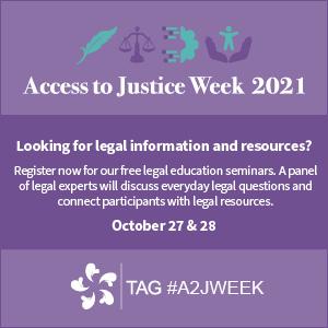 Law Society of Ontario - Free legal education clinics
